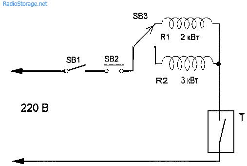 Рис. 2 4 -Электрическая схема