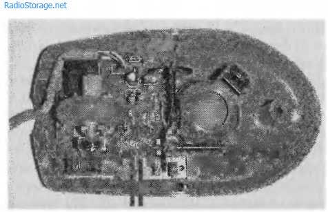 Контроллер смещения на базе компьютерной мышки
