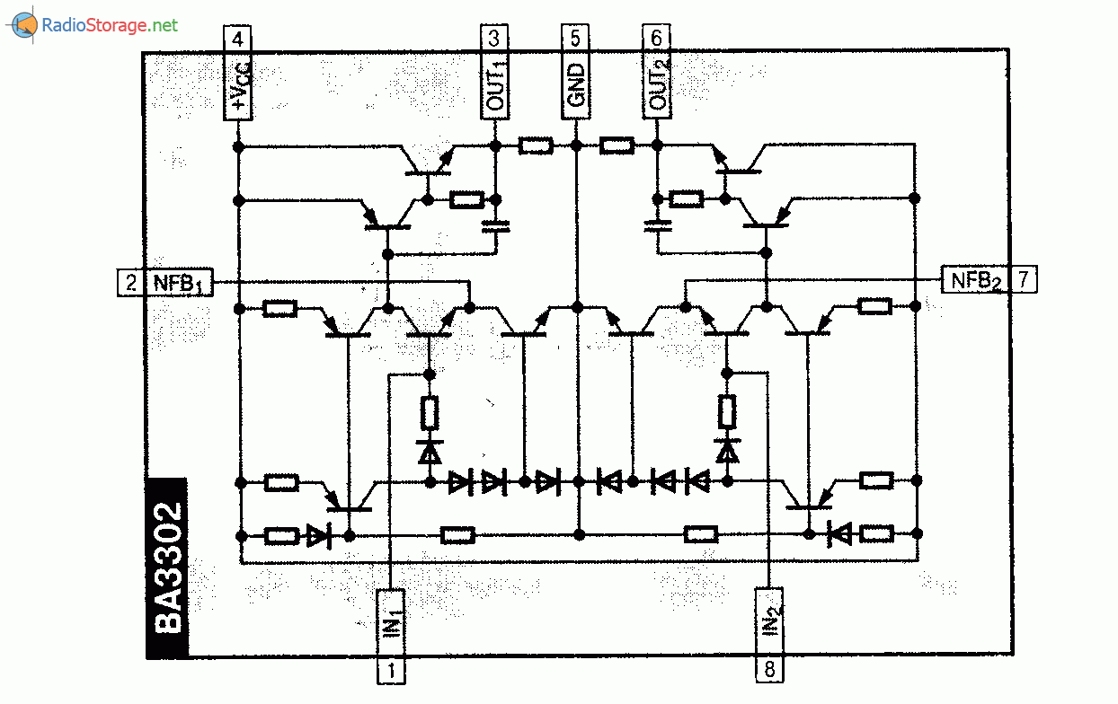tda7850 схема усилителя мощности