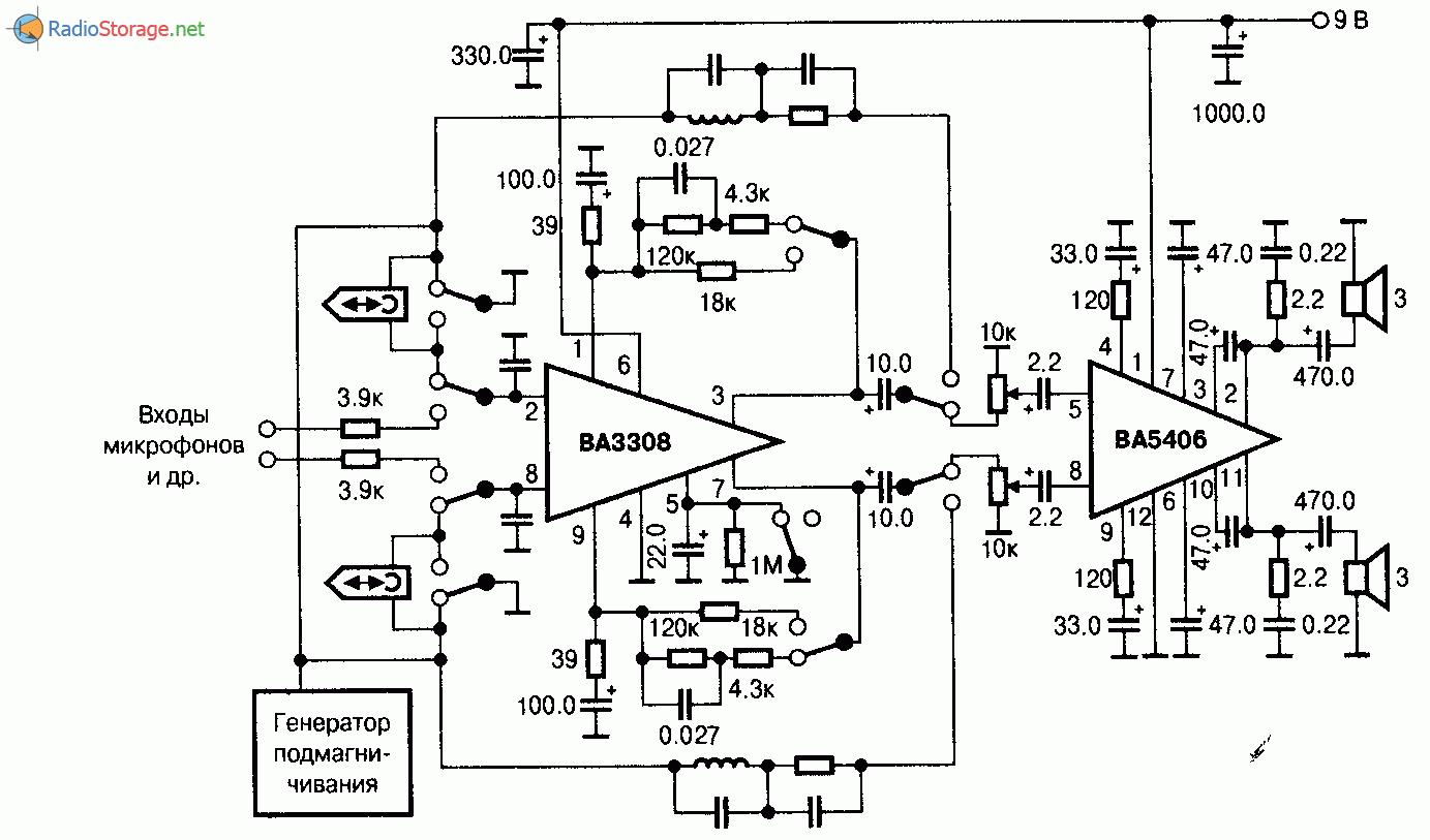 Ba49182 схема включения