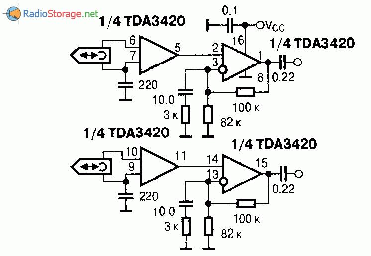 Структурная схема интегральной