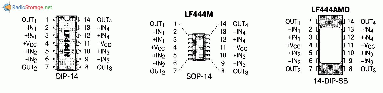 Микросхема LF444