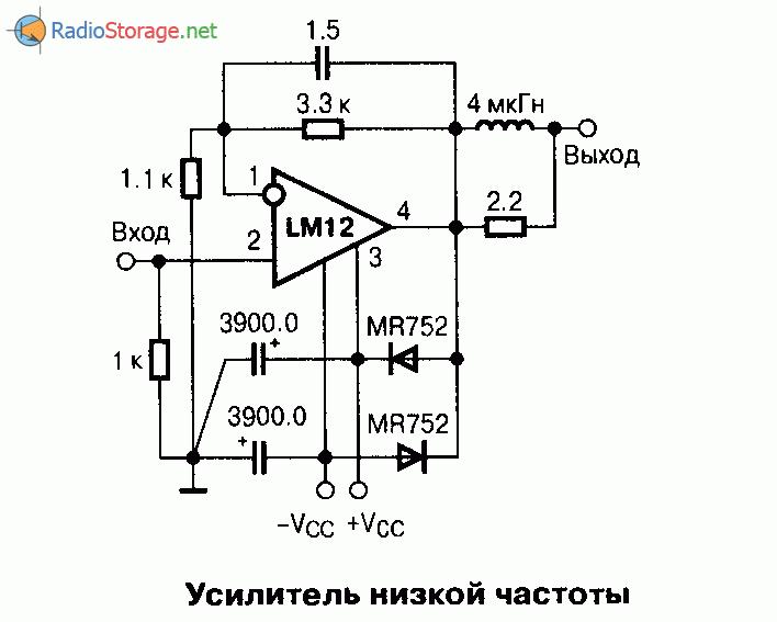Микросхема LM12 - мощный