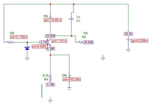 Схема управления Stand-by в симуляторе