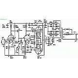Схема лампового УНЧ на 10 Вт (6Ж3П, 6Н1П, 6П14П)