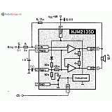 Микросхема NJM2135D/E/L/M/V - УНЧ (55-400мВт при 2-16В)