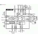 Микросхема uPC1260G - стерео-мостовой УНЧ (40-430мВт при 3-8В)