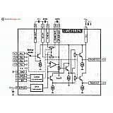Микросхема LM1992N - стерео регулятор громкости и тембра с цифровым управлением