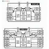Микросхема TC9210P, TC9211P - двухканальный аттенюатор с цифровым управлением