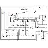 Графический эквалайзер на микросхеме BA3824LS (4 или 5 полос)