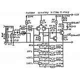 4-х полосный блок регуляторов тембра на транзисторах