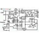 Простой терморегулятор для управления теном на 220В (LM311, АОУ160А)