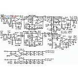 Схема предварительного усилителя НЧ с темброблоком (LM833, TL071)