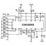 Пятиполосный графический стереоэквалайзер на CXA1352AS