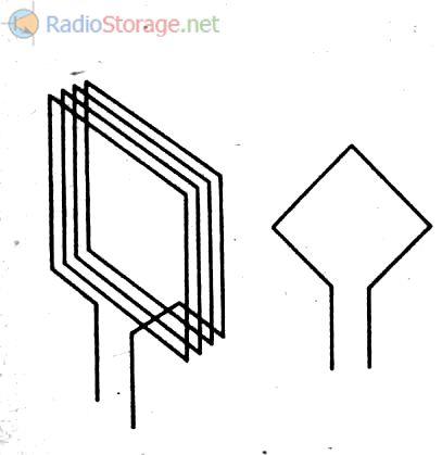 Значок антенны на схеме