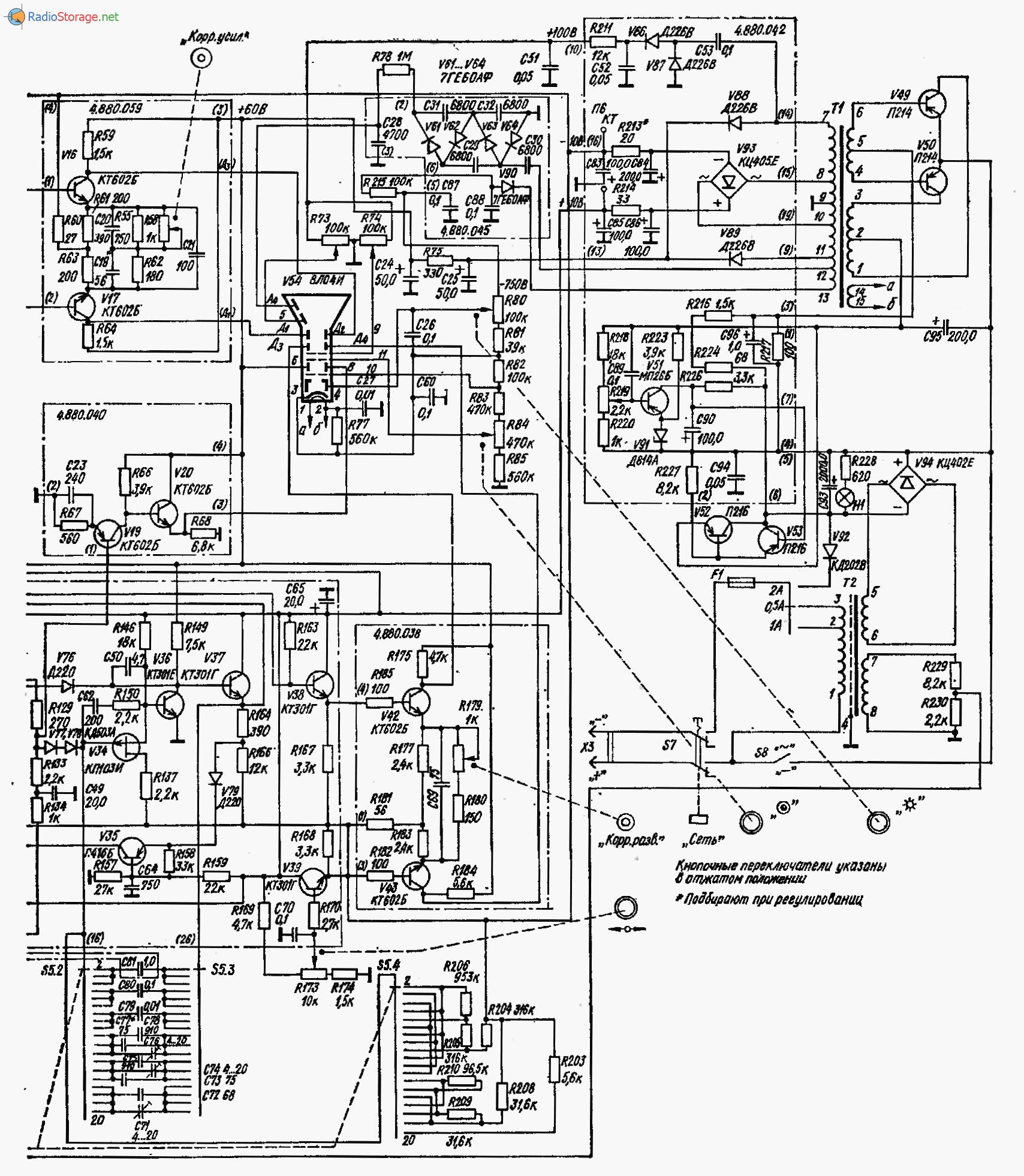 Ремонт осциллографа с1-94 своими руками 37