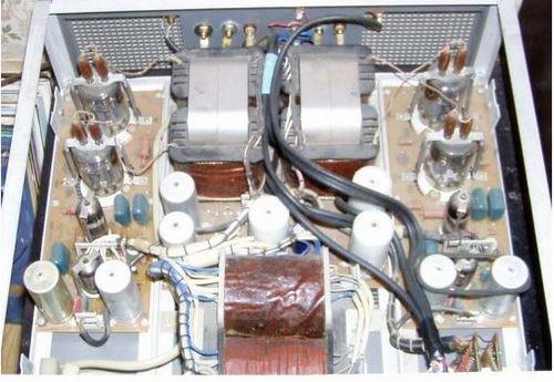 Ламповый усилитель прибой-75ум-204с (50ум-204с) схема, внешний.