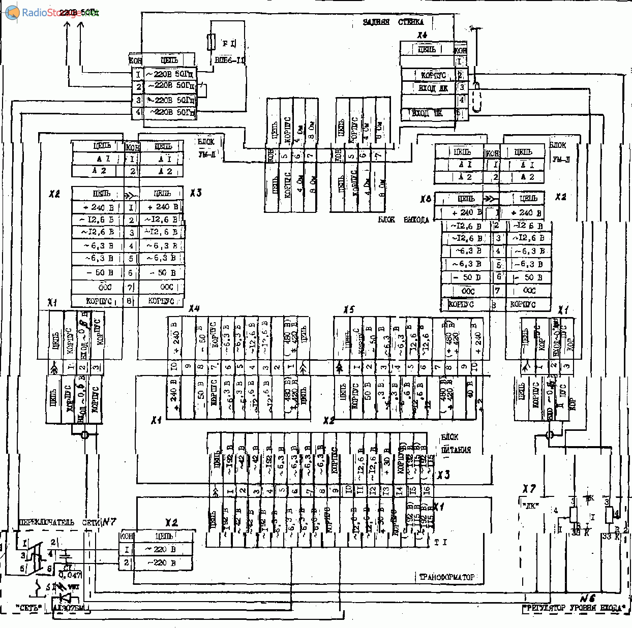 Схема прибой 75ум-204с