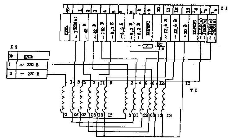 Прибой 50ум-204с при включении сильно гудит левый канал.