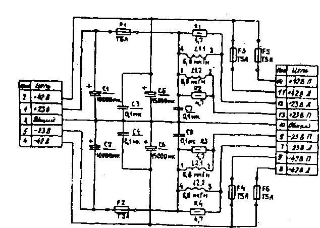 Схема барк 50у 068с
