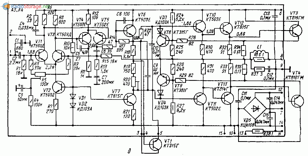 Усилитель Амфитон-002