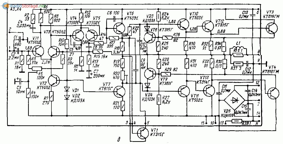 Амфитон у 002 схема