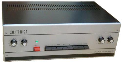 Усилитель Электрон-20, схема