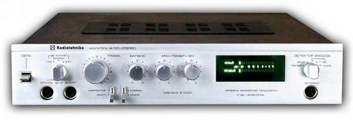 Усилитель Радиотехника У-101 (Radiotehnika U-101), схема