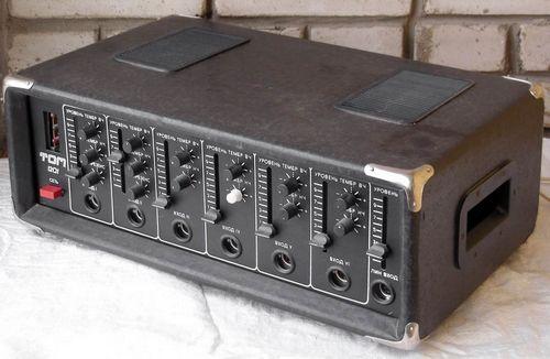 Усилитель Том-1201, схема