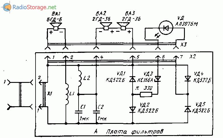 Ода-101 стерео (тюнер,