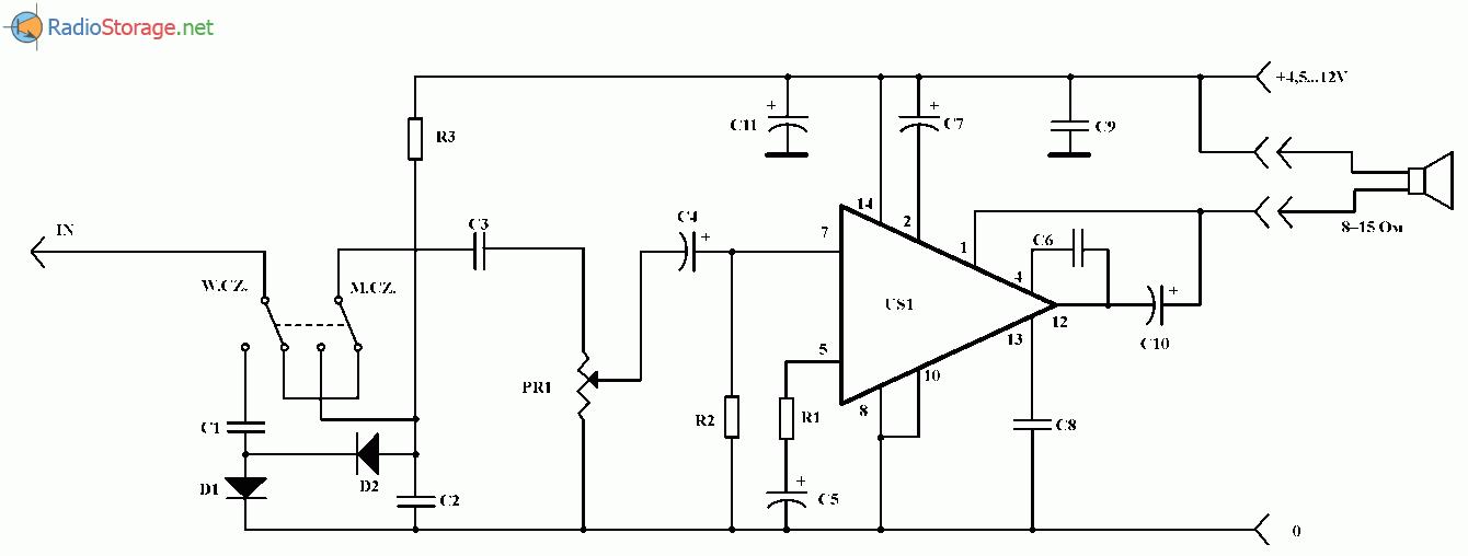 Пробник - детектор наличия
