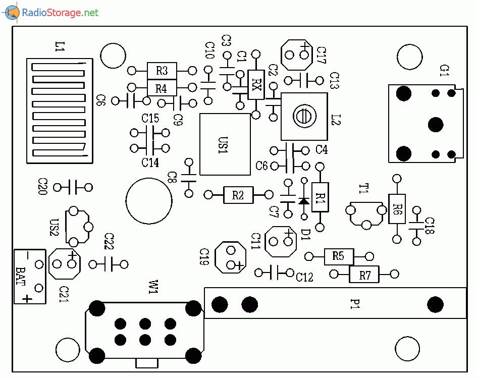 Простой УКВ приемник 88-108