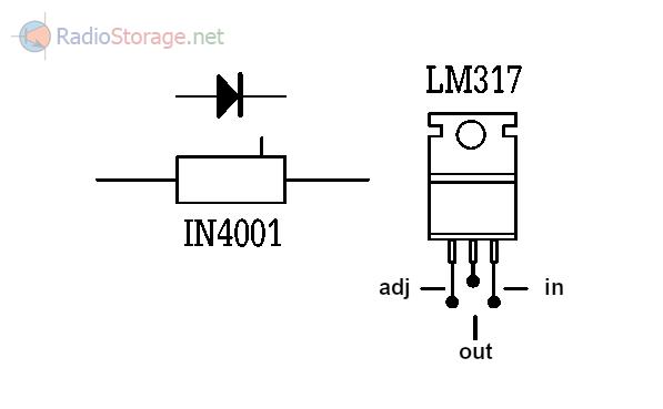 возможностей схемы LM317T