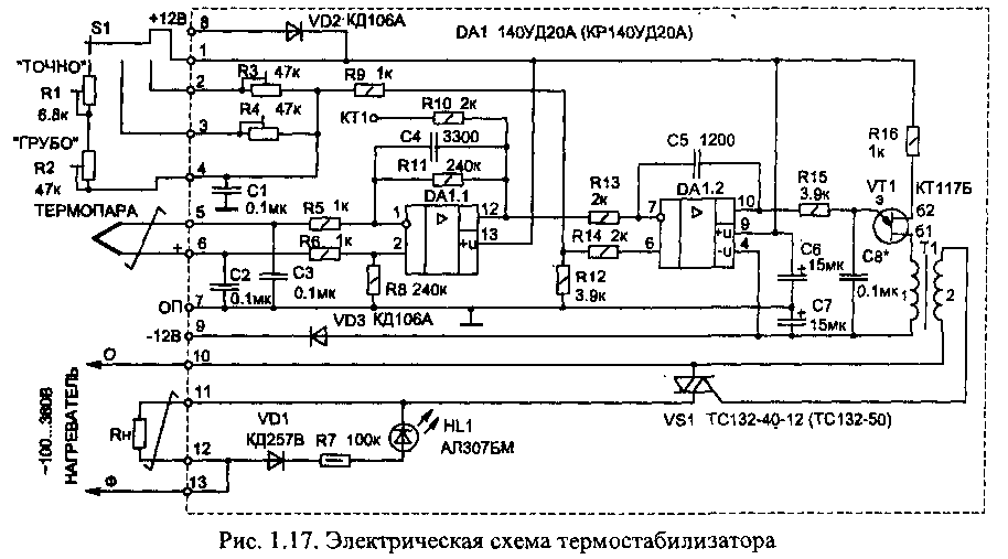 Термостабилизатор 150...1000