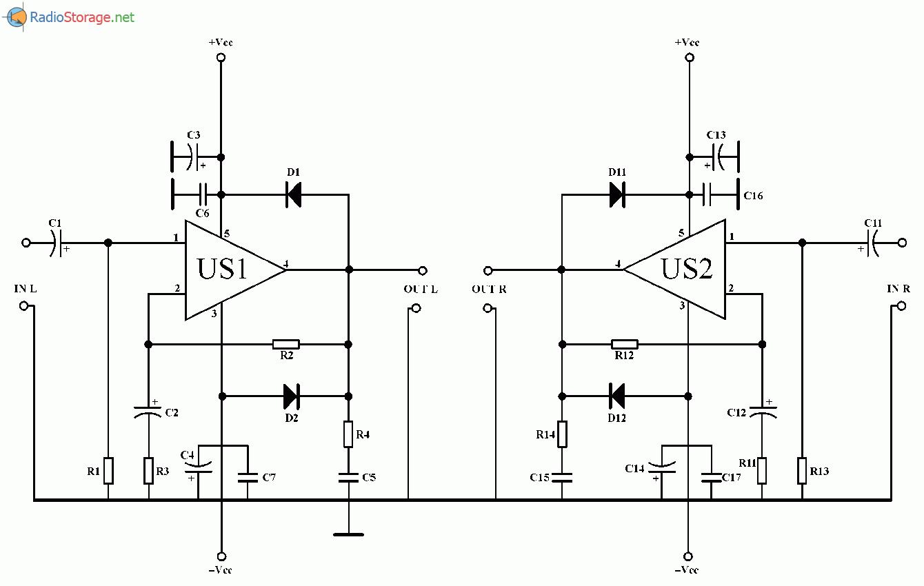 Унч на tda2030a схема