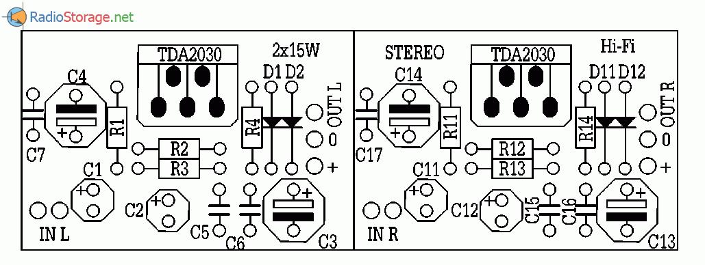 усилители на микросхемах