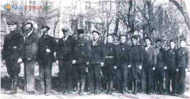 Слушатели курсов радиоспециалистов, 1938 г