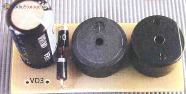 Фото платы с двумя сигнализаторами