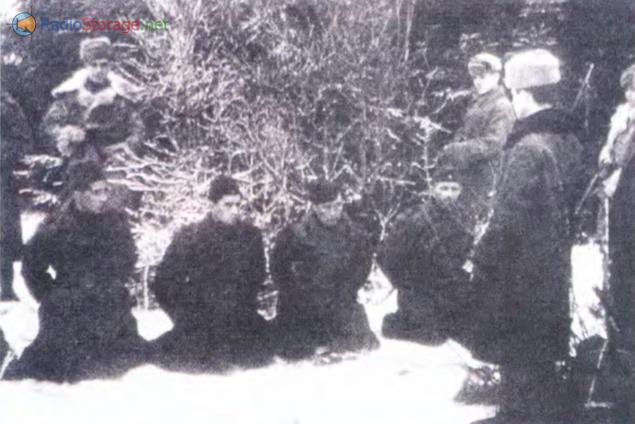 Задержанные диверсионной группы, выявленной в процессе радиоигры