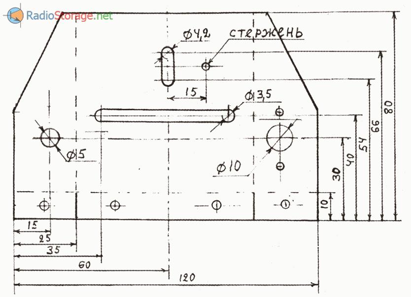 Автораскладчик провода к намоточному устройству для намотки трансформаторов