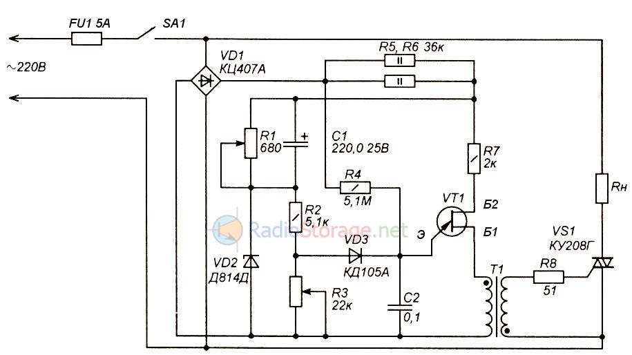 Схема регулятора напряжения 453746.001 02 фото 103