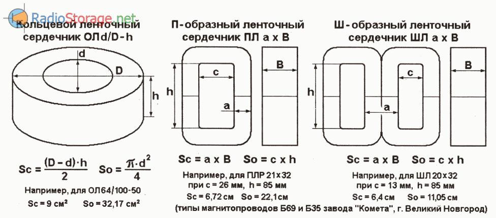 Правильный расчет силового трансформатора