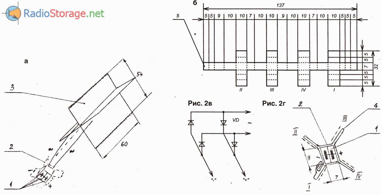 Диод мост схема
