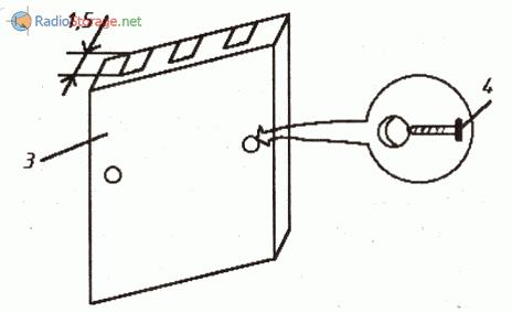Самодельный зажим для транзисторов