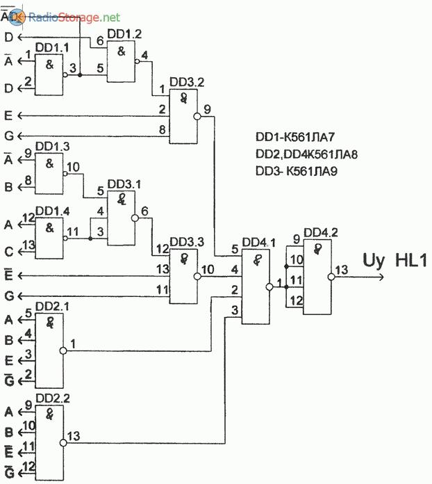 Схема, реализующая автомат световых эффектов (часть 3)