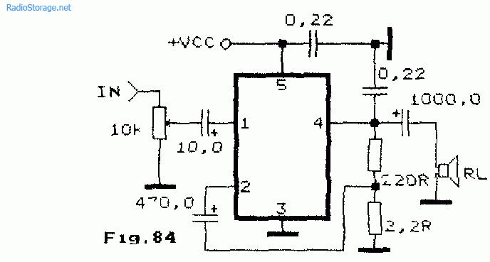 Интегральные УНЧ K174УН14