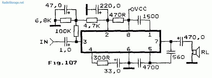 LA 4051P (1-2Вт)