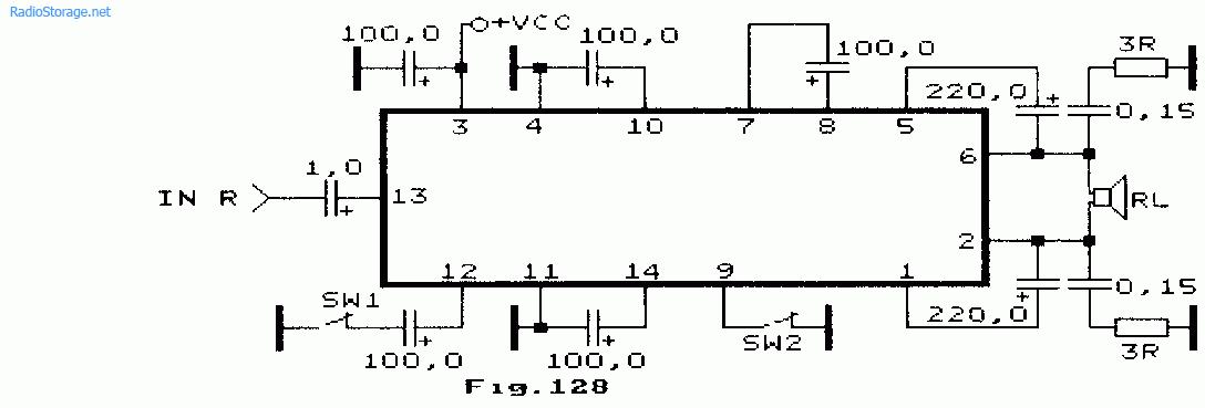 a SW2 переводит микросхемы