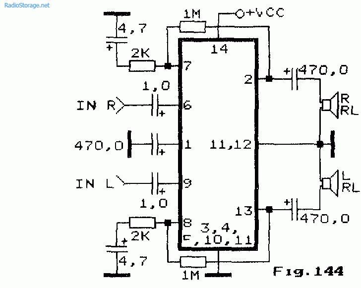 УНЧ на микросхемах IL277,