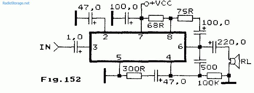 одной микросхеме M51501L